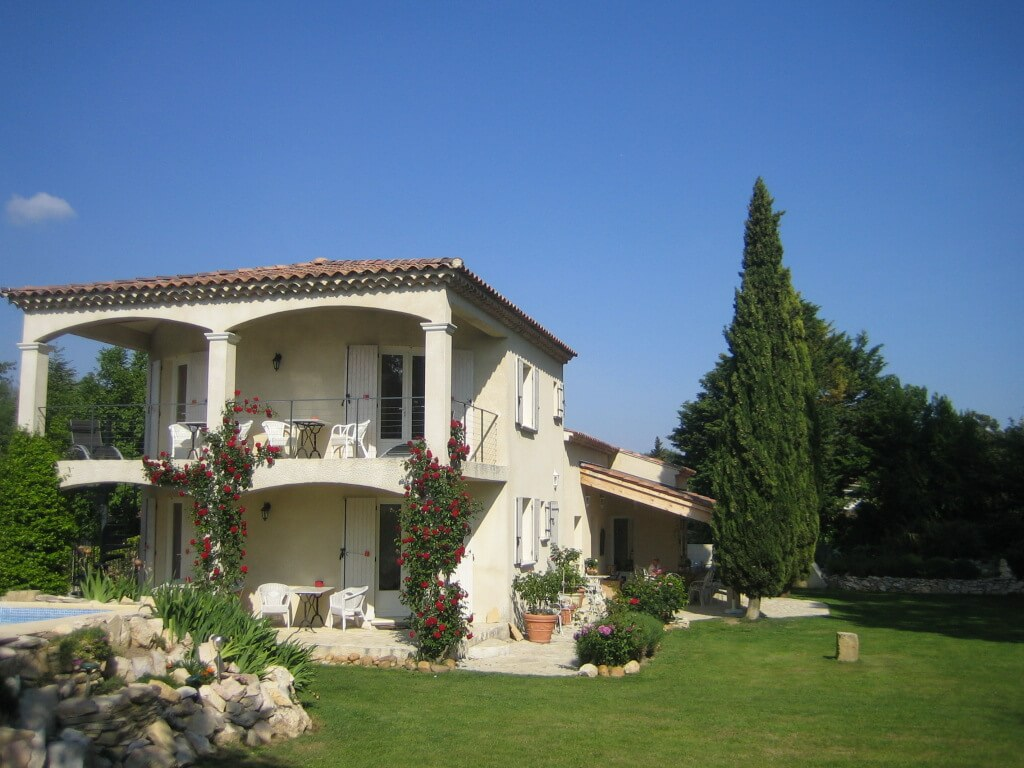Maison Blum garden