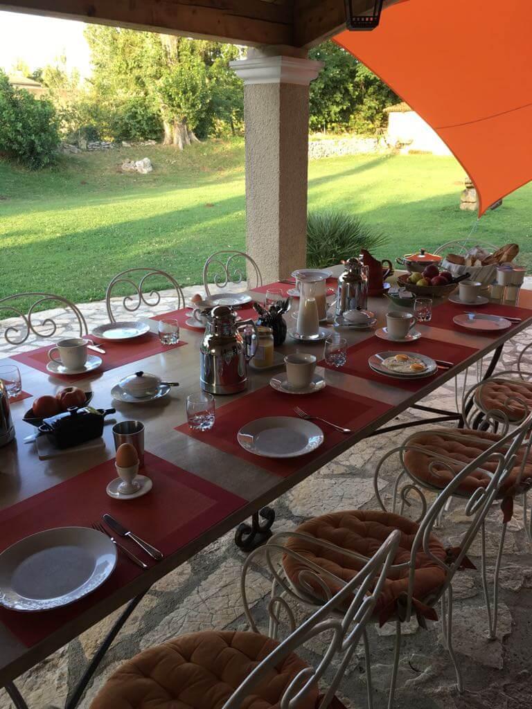 Frühstück Provence
