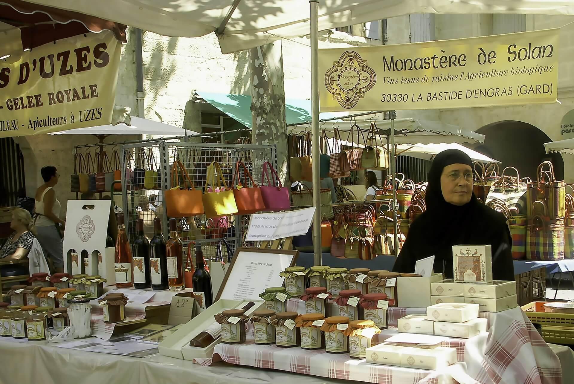 Markt Uzès
