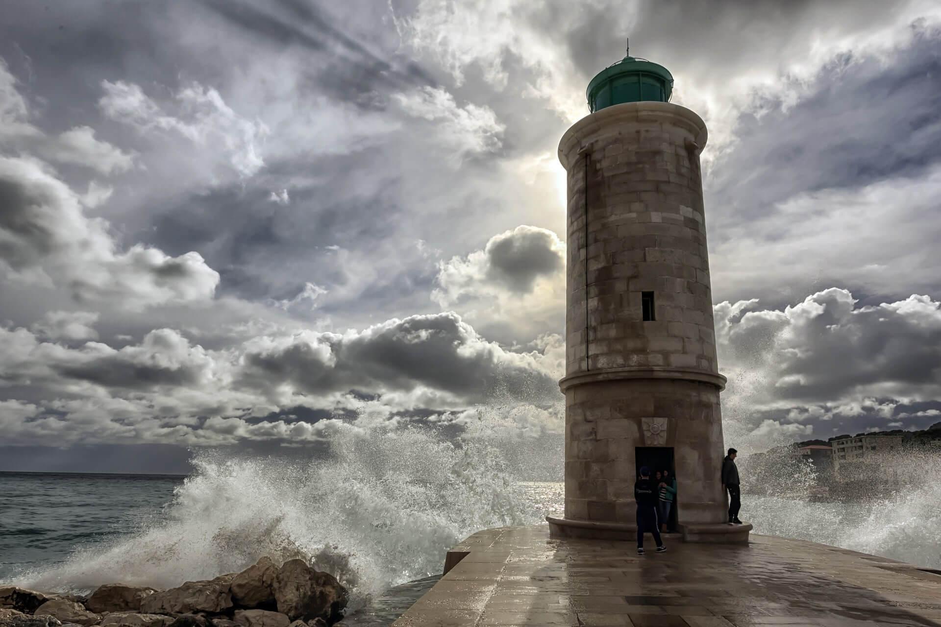 Leuchtturm in Marseille
