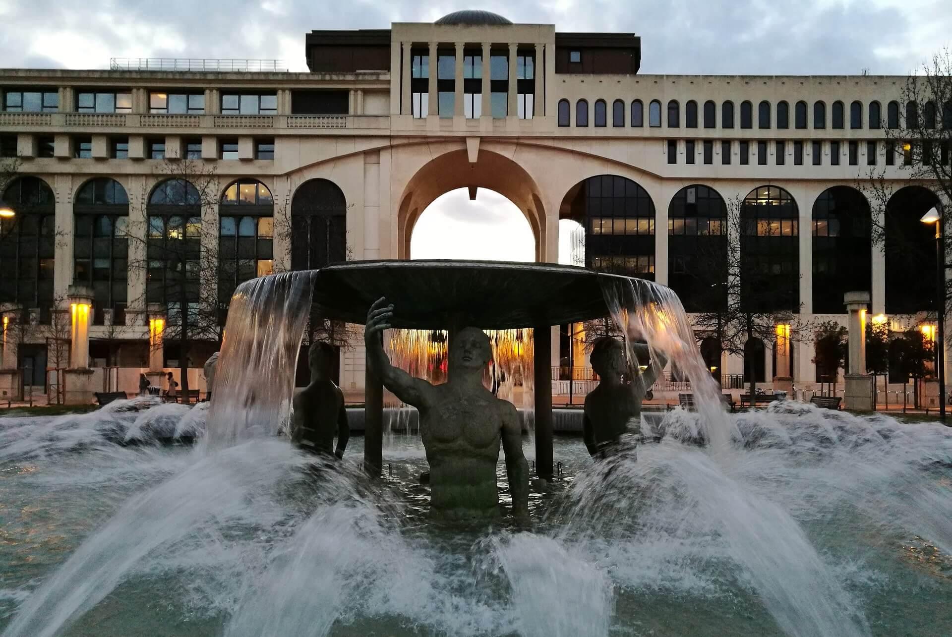 Brunnen in Montpellier