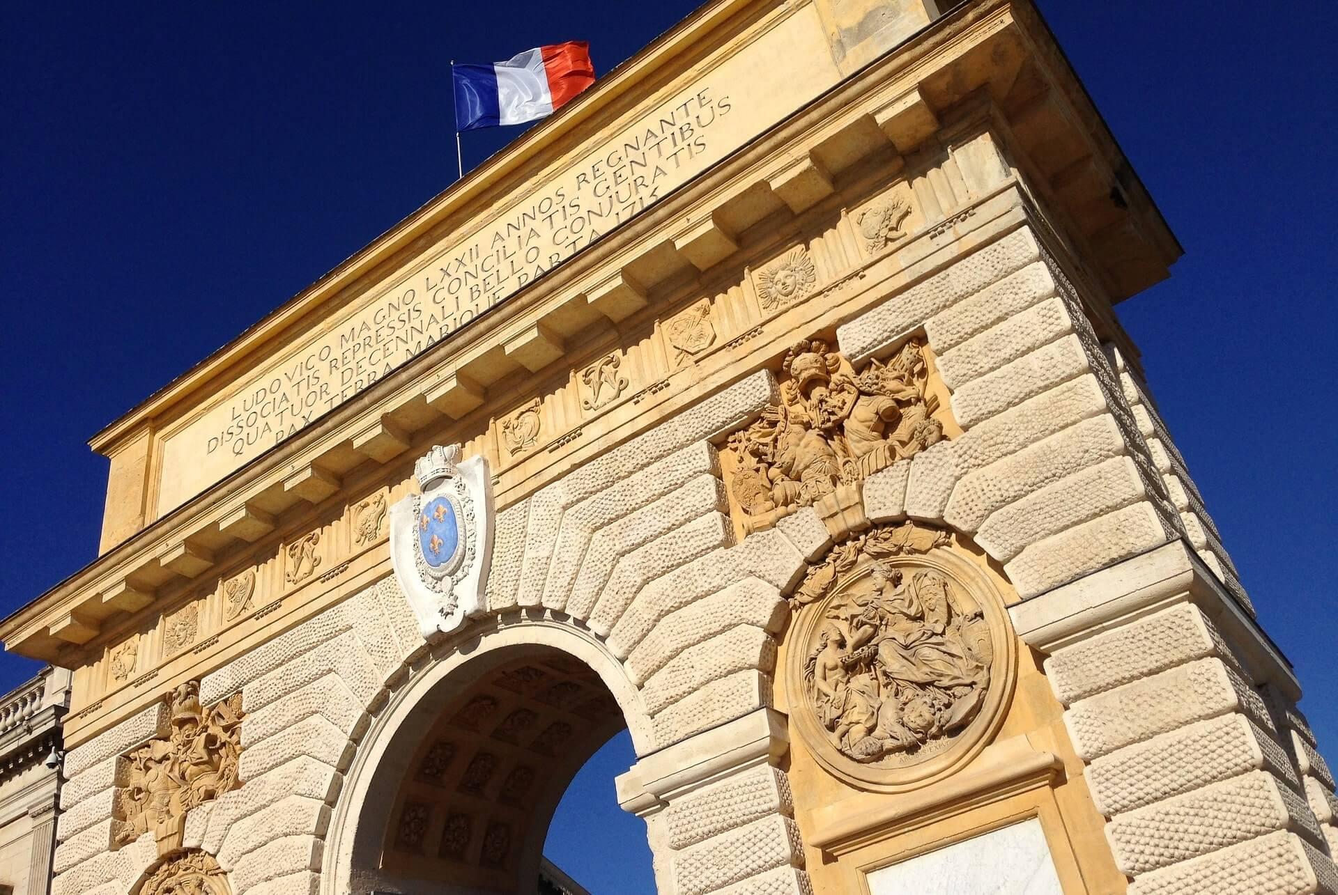 Montpellier Triumphbogen