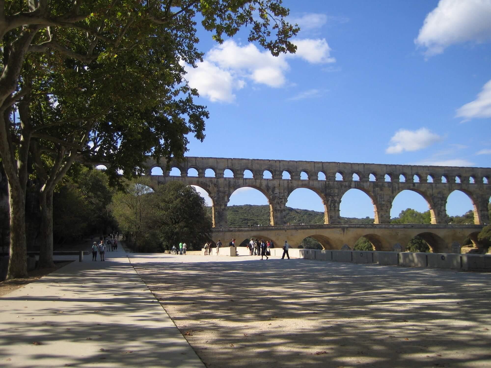 Pont du Gard für Einheimische