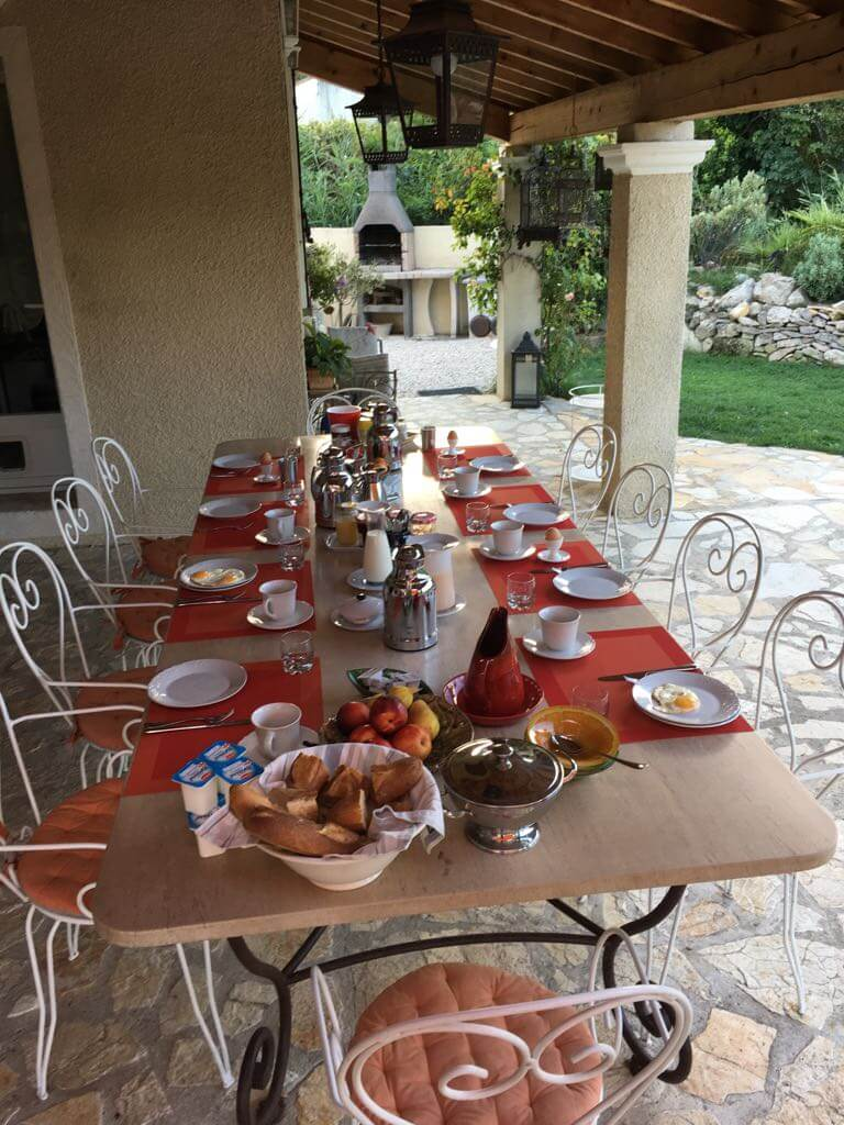 Provence Frühstück