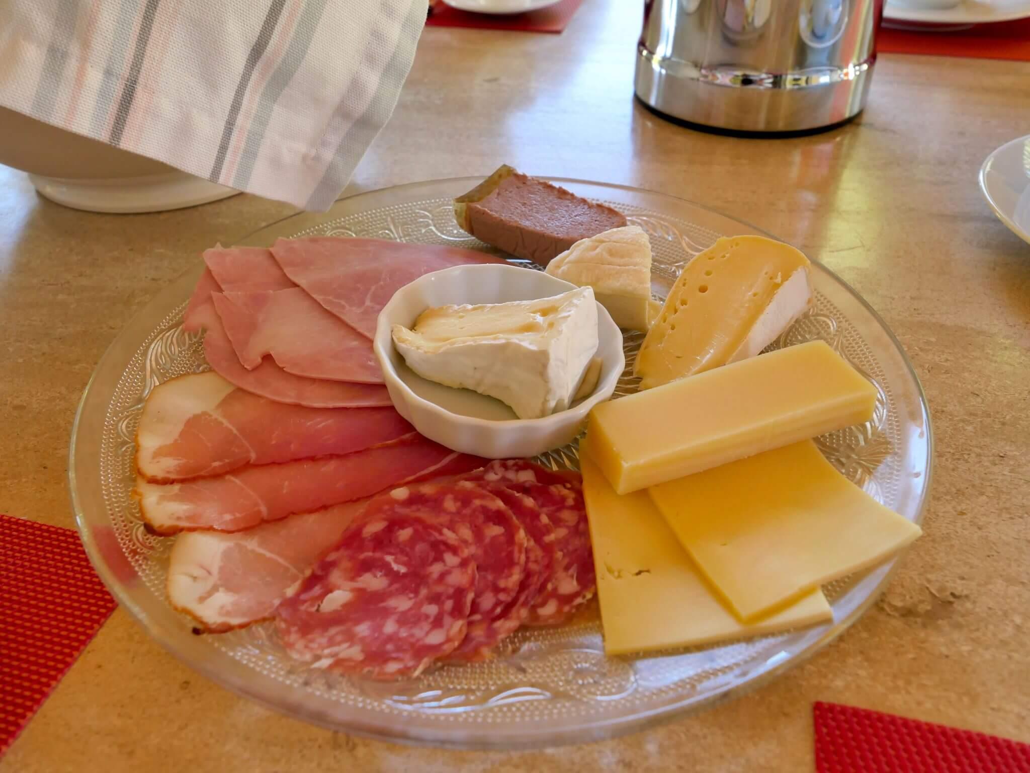 Provence Käse und Wurst
